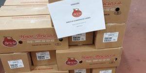 Hermanos Bricio dona 800 kilos de embutido para familias vulnerables