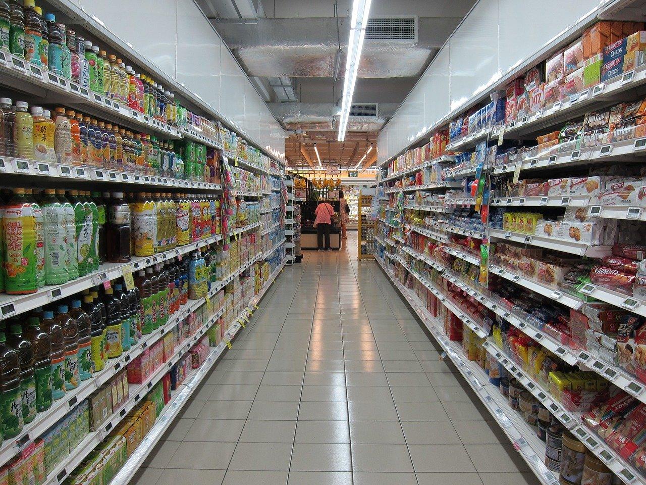 Supermercado, pasillo