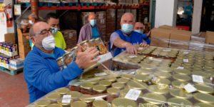 El Banco de Alimentos reinvierte la solidaridad en empresas locales