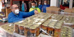 Aumenta el número de familias que pide ayuda al Banco de Alimentos