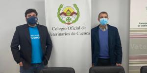El Colegio de Veterinarios de Cuenca entrega 3.000 euros al Banco de Alimentos