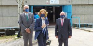 El Banco de Alimentos demanda a la reina Sofía apoyo para la ampliación de sus instalaciones en Cuenca
